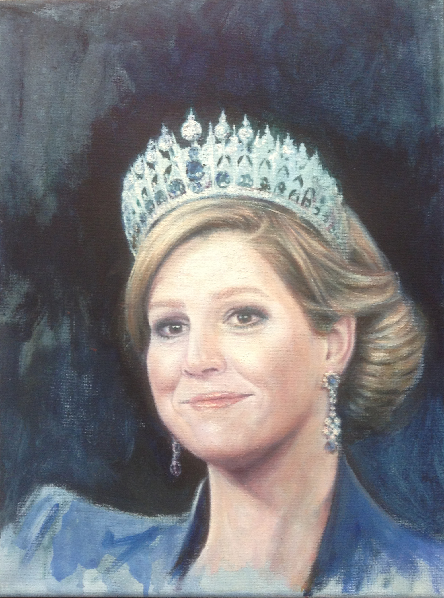 Maxima as a new queen…